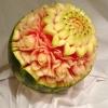 carving vyrezávanie z ovocia a zeleniny