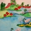 Kurz_akvarel_Purpur_ateliér