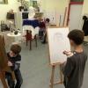 detský ateliér - Purpur ateliér - kresba