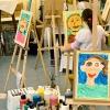 Letný tábor v Purpur ateliéri - maľba portrét