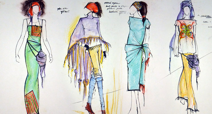 fashion Illustration, odevná kresba